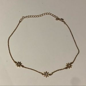 Forever 21 gold star necklace